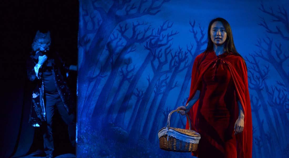 Le Petit Chaperon rouge de Julien Gelas - Critique sortie Théâtre Avignon Théâtre du Chêne Noir