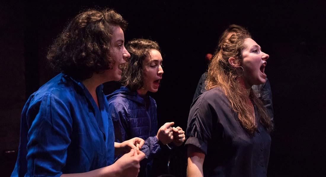Les Femmes de Barbe Bleue, mise en scène de Lisa Guez - Critique sortie Avignon / 2021 Avignon Avignon Off. Théâtre des Carmes-André Benedetto