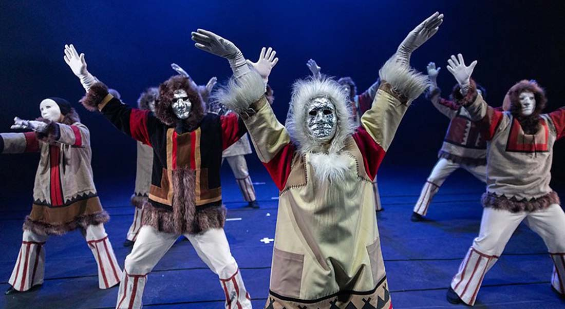 Les Rêves de la Terre Blanche d'Evgueni Ibragimov - Critique sortie Danse Avignon La Scierie