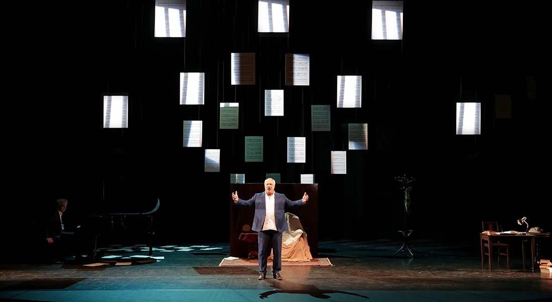 Madame Pylinska et le secret de Chopin d'Eric-Emmanuel Schmitt, mise en scène de Pascal Faber - Critique sortie Théâtre Avignon Le Chêne Noir