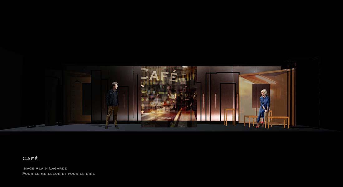 Pour le meilleur et pour le dire de David Basant et Mélanie Reumaux - Critique sortie Avignon / 2021 Avignon Avignon Off. Théâtre du Roi René