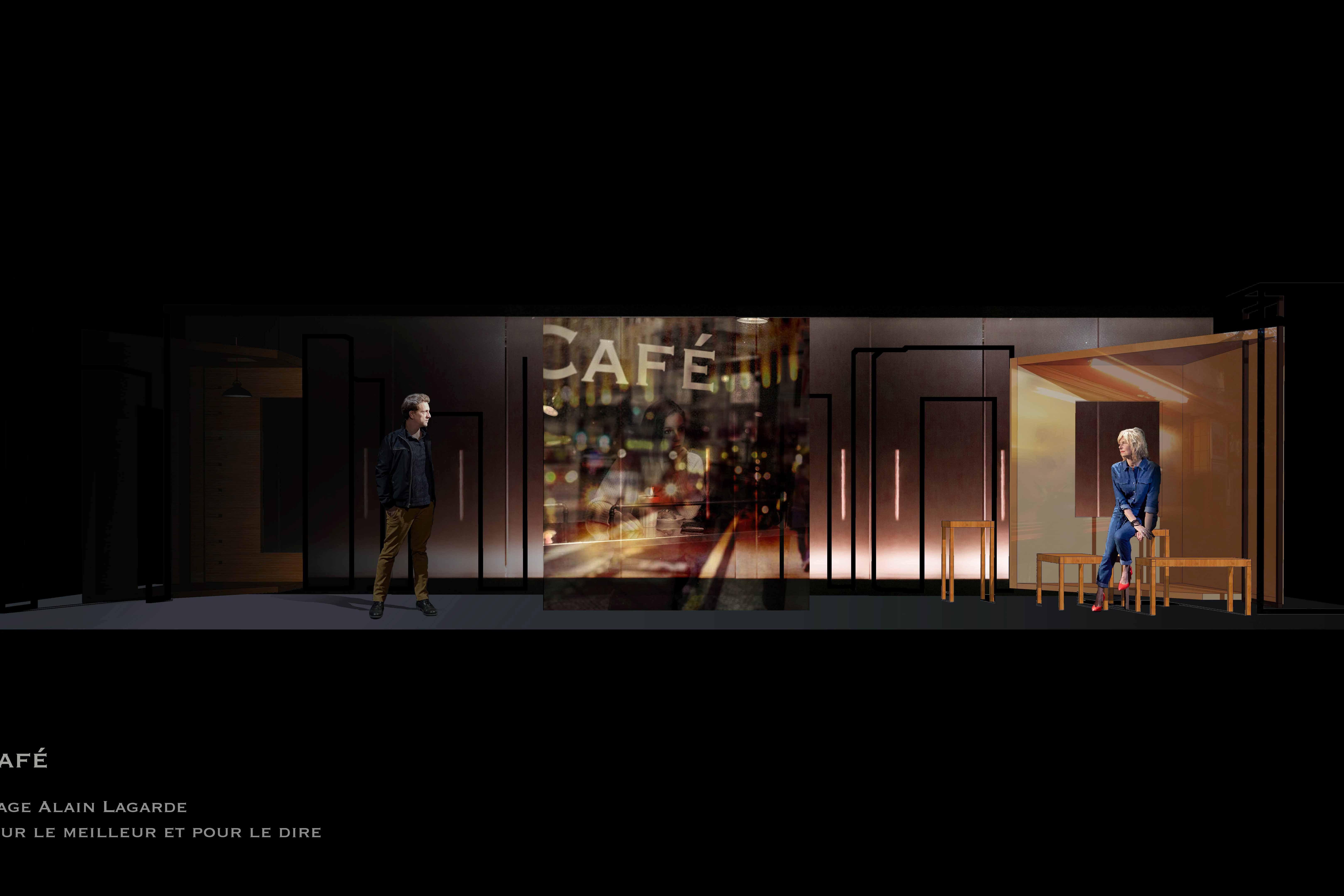 Pour le meilleur et pour le dire de David Basant et Mélanie Reumaux, mise en scène David Basant - Critique sortie Théâtre Avignon Théâtre du Roi René