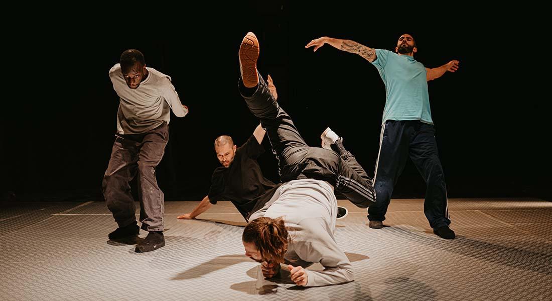 Slide d'Annabelle Loiseau - Critique sortie Danse Avignon Le Nouveau Grenier