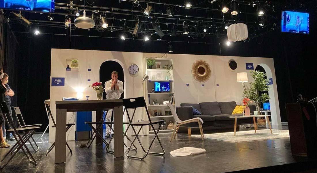La Ligne solaire d'Ivan Viripaev, mise en scène d'Illia Delaigle - Critique sortie Théâtre Avignon La Caserne des pompiers