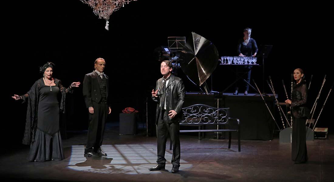 Vienne 1913 d'après Alain Didier-Weill, mise en scène Jean-Luc Paliès - Critique sortie Théâtre Avignon Les Gémeaux