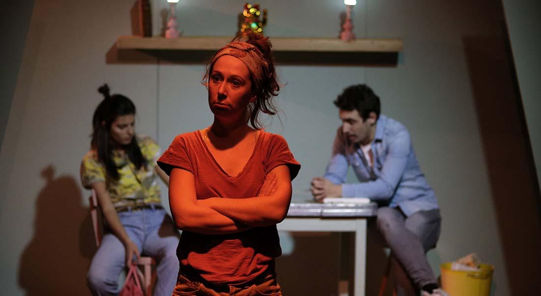 Yourte de Gabrielle Chalmont et Marie-Pierre Nalbandian - Critique sortie Théâtre Avignon Théâtre des Carmes - André Benedetto