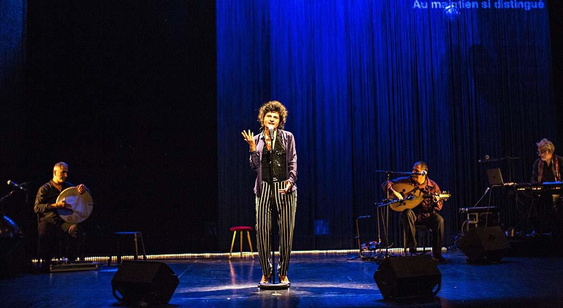 Al Atlal – Chant pour ma mère, d'après le poème d'Ibrahim Nagi, chanté par Oum Kalsoum / Conception Norah Krief - Critique sortie Théâtre Bobigny MC93 - Maison de la culture de Seine-Saint-Denis Bobigny