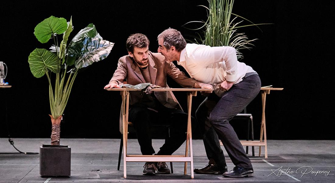Bartleby d'après Herman Melville, mise en scène de Katja Hunsinger et Rodolphe Dana - Critique sortie Théâtre Lorient Théâtre de Lorient