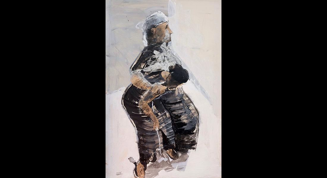 Eléphant ou le temps suspendu de Bouchra Ouizguen - Critique sortie Danse Paris Centre Pompidou