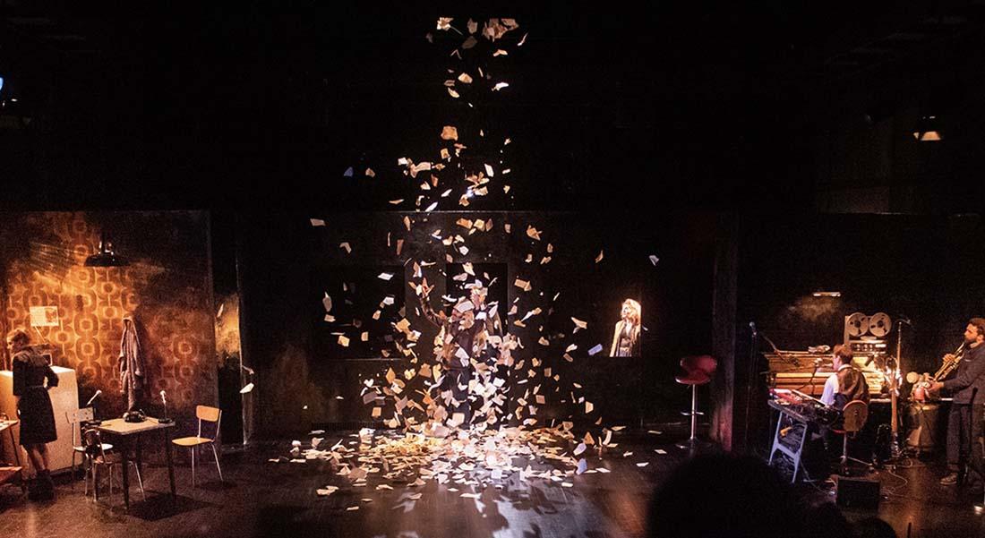 Fahrenheit 451 d'après Ray Bradbury, mise en scène Mathieu Coblenz - Critique sortie Théâtre Villeurbanne Théâtre National Populaire