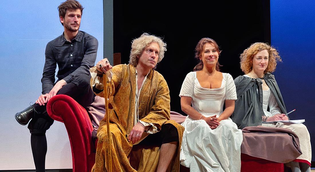Les amours de Zelinda et Lindoro d'après Goldoni, traduction Ginette Herry, mise en scène Muriel Mayette-Holtz - Critique sortie Théâtre Paris La Scala