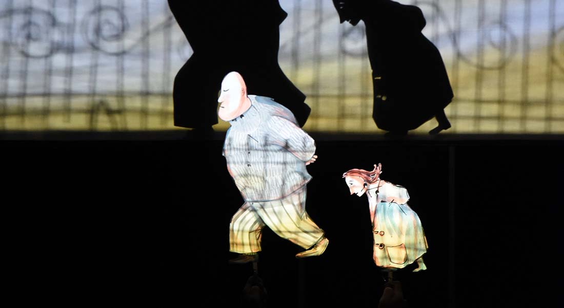 Moi et Rien d'après Kitty Crowther, mise en scène Fabrizio Montecchi - Critique sortie Théâtre saint denis Centre Dramatique National de Saint-Denis