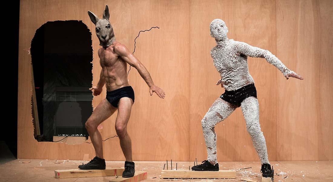 Work de Claudio Stellato - Critique sortie Danse Paris Le Monfort