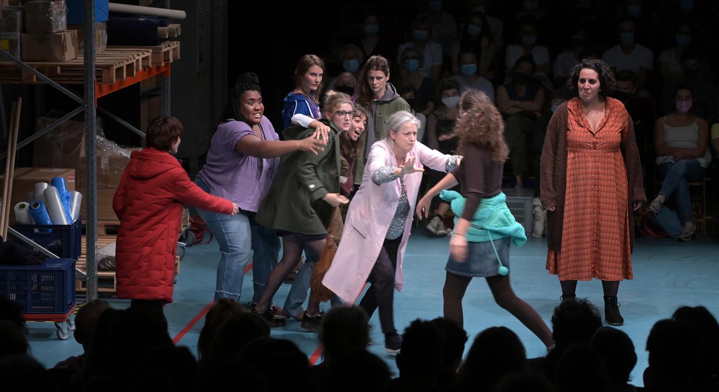 7 minutes, de Stefano Massini, mise en scène de Maëlle Poésy - Critique sortie Théâtre Paris Comédie-Française - Théâtre du Vieux-Colombier