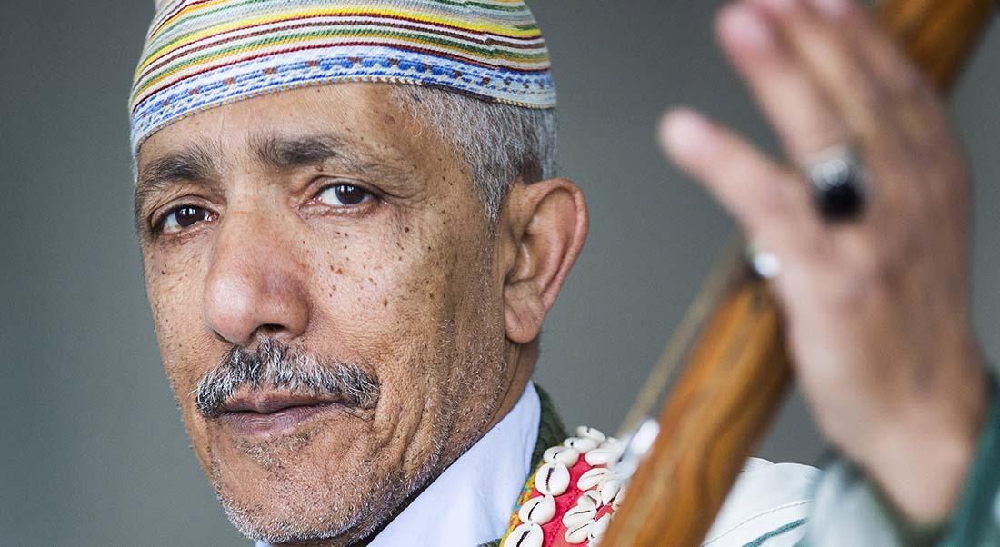 Cérémonie gnawa de Tanger avec M'allem Abdelwahid Stitou et ses fils - Critique sortie Jazz / Musiques Paris Institut des Cultures d'Islam
