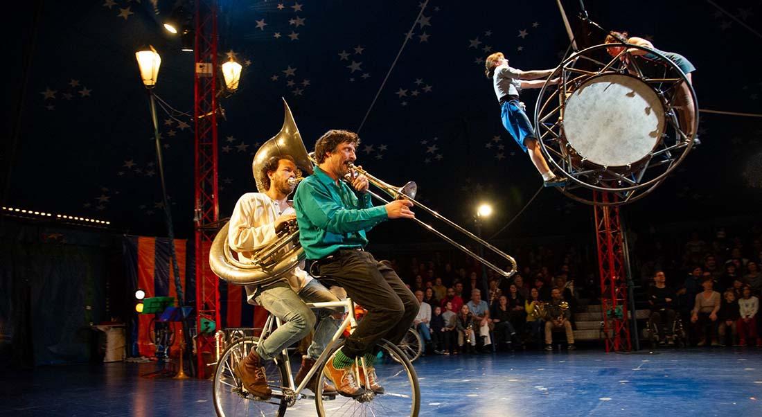 (V)îvre, Cirque en fanfare, Conception Circa Tsuica - Critique sortie Cirque Evry L'Agor-Scène nationale de l'Essonne