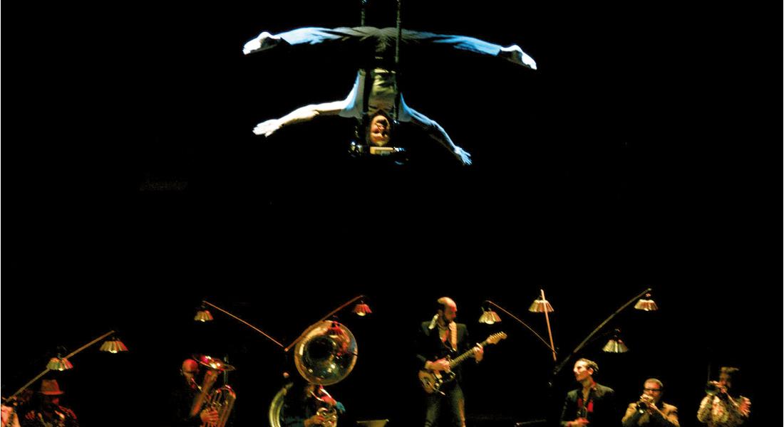 La Toile du Surnatural Orchestra ouvre la saison de l'Académie Fratellini - Critique sortie Théâtre La Plaine Saint-Denis Académie Fratellini
