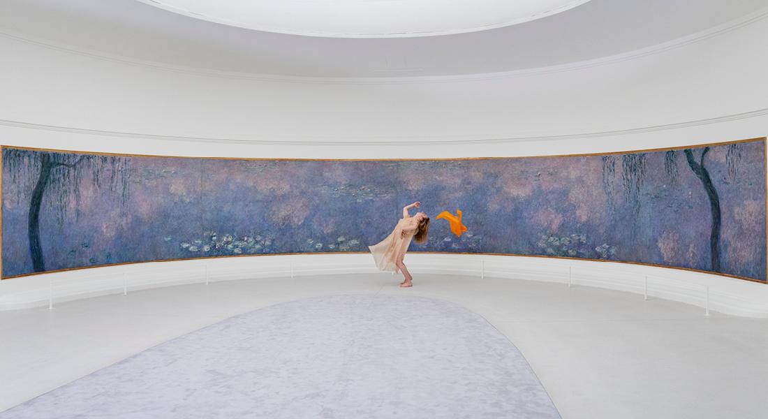 VIDÉO – Danse dans les Nymphéas, François Chaignaud danse Isadora et le sens du bonheur - Critique sortie Danse Paris Musée de l'Orangerie - Jardin des Tuileries