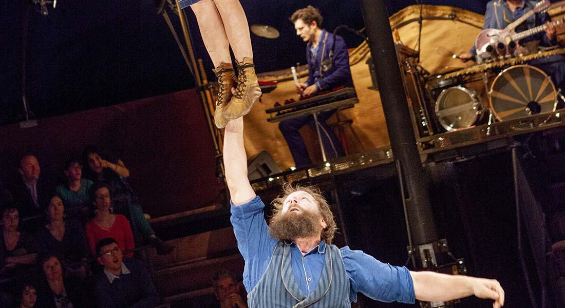 Campana du Cirque Trottola - Critique sortie Cirque Antony L'Azimut - Espace Cirque