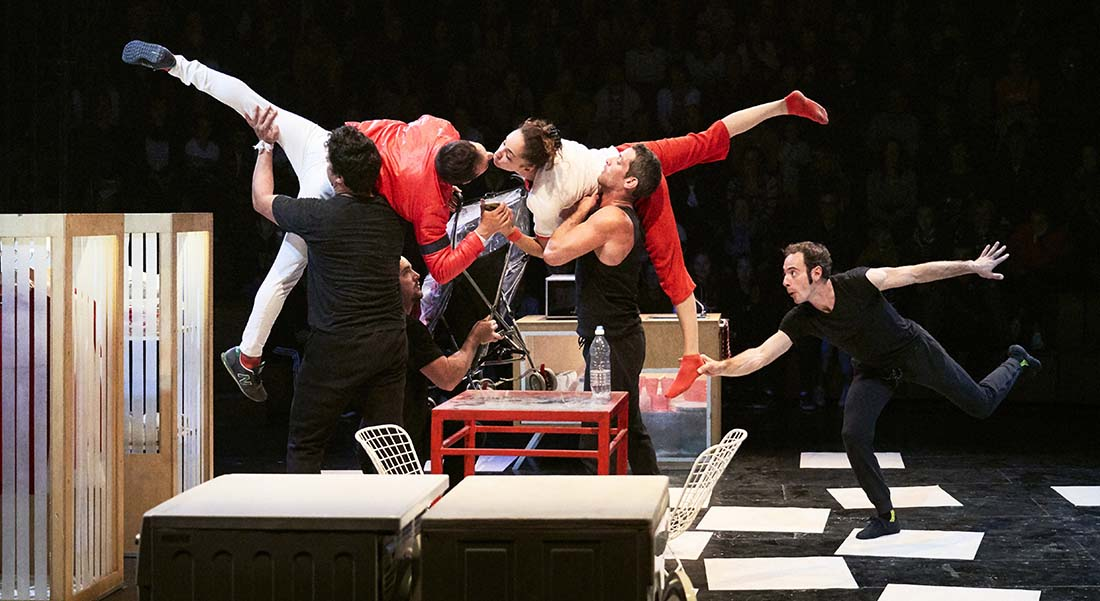 Dans ton cœur de la Cie Akoreacro - Critique sortie Cirque Saint-Quentin-en-Yvelines Théâtre de Saint-Quentin-en-Yvelines - Scène nationale