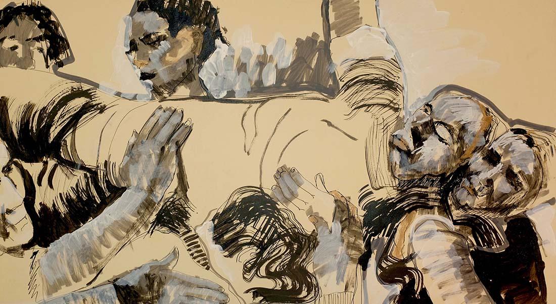 Éléphant ou le temps suspendu de Bouchra Ouizguen - Critique sortie Danse Cergy Points Communs - Théâtre 95