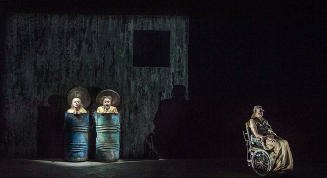 Pierre Audi met en scène Fin de partie de Kurtag - Critique sortie Classique / Opéra Paris Palais Garnier