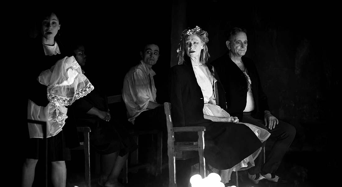 Le Jeu des ombres de Valère Novarina, mise en scène Jean Bellorini - Critique sortie Théâtre Sceaux Les Gémeaux - Scène Nationale