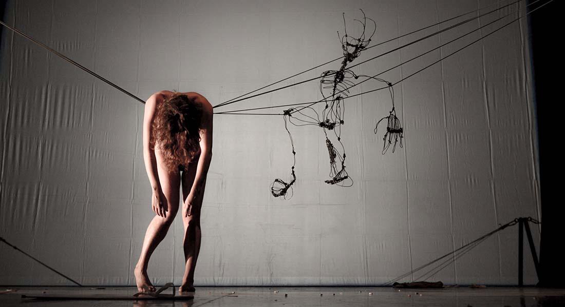 Le Poids de l'âme (Tout est provisoire) de Chiara Marchese - Critique sortie Cirque Nexon Sirque - pôle national cirque