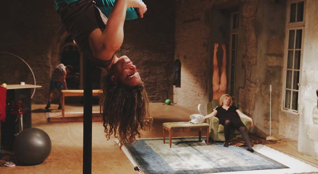 La mélodie de l'Hippocampe de Cille Lansade - Critique sortie Cirque DIJON Théâtre Mansart